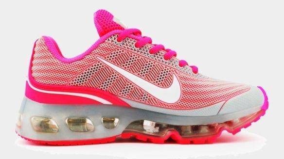 Nike Air Max 360 серо-розовые