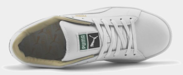 Puma Suede Classic белые