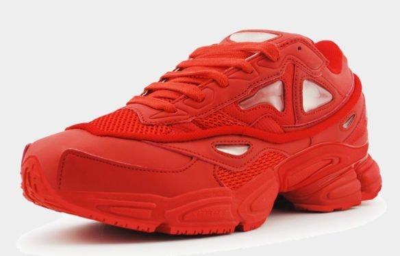 Raf Simons x Adidas Consortium Ozweego 2 красные