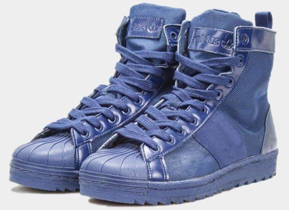 Фото Adidas Superstar Jungle Boots синие - 1