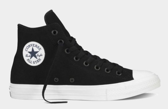 Фото Converse Chuck Taylor All Star II High черные - 3