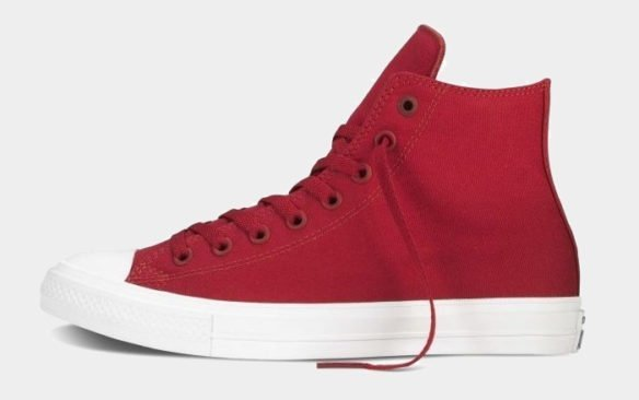 Фото Converse Chuck Taylor All Star II High красно-белые - 2