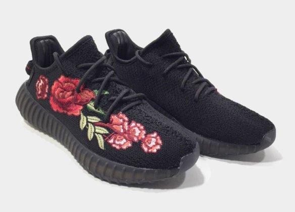 Фото Adidas Yeezy Boost 350 V2 by Kanye West черные - 1