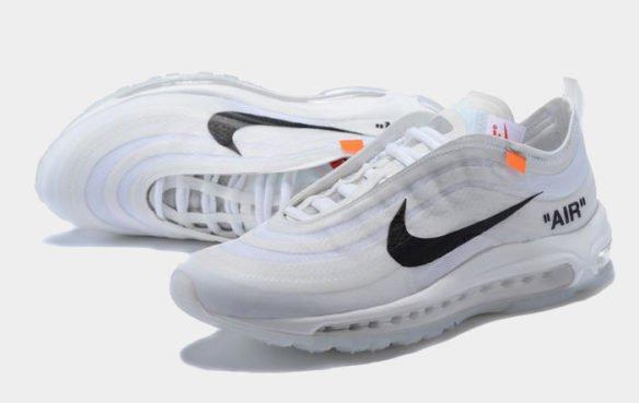 Фото Nike x OFF WHITE Air Max 97 белые - 3