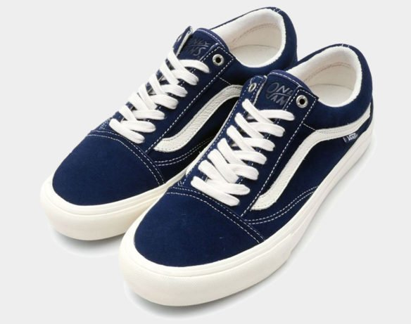 Фото Vans Old Skool x Only Ny синие - 1
