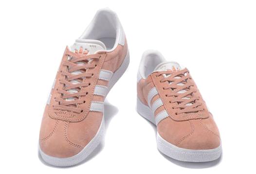 Фото Adidas Gazelle Розовые с Белым - 1