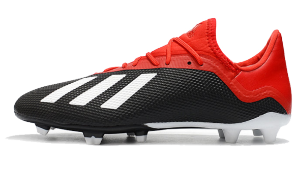Фото Adidas X 18.1 FG black-red - 3